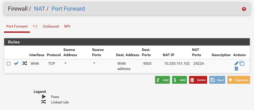 pfSense 에서 port forward 하는 방법 :: 2cpu, 지름이 시작되는 곳!