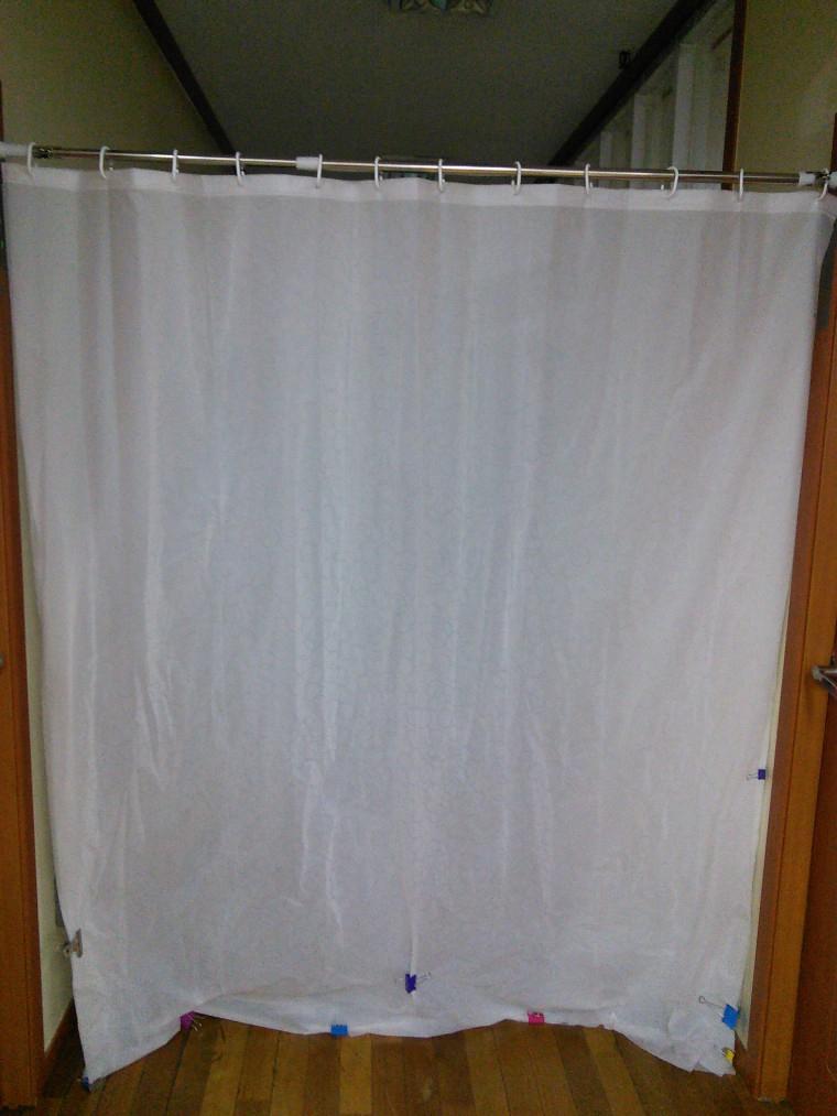 샤워커튼과 냉방 :: 2cpu, 지름이 시작되는 곳!
